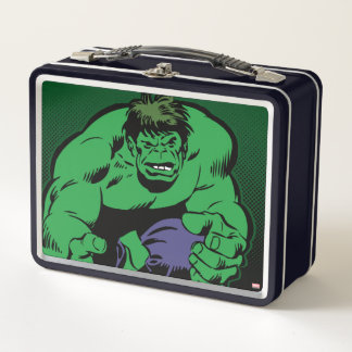 Hulk Retro Stomp Metal Lunch Box