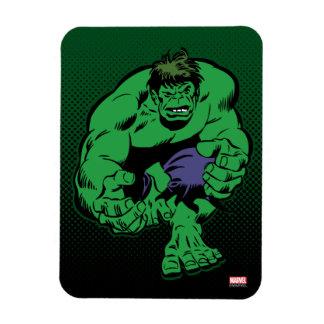 Hulk Retro Stomp Rectangular Photo Magnet
