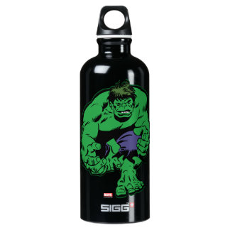 Hulk Retro Stomp Water Bottle
