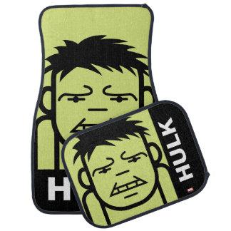 Hulk Stylized Line Art Car Floor Mat