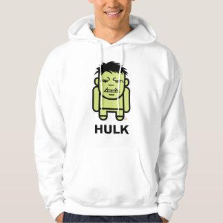 Hulk Stylized Line Art Hoodie