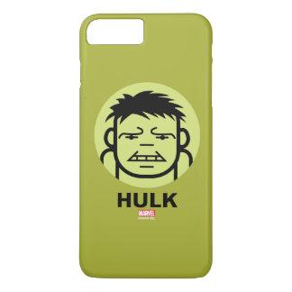 Hulk Stylized Line Art Icon iPhone 7 Plus Case
