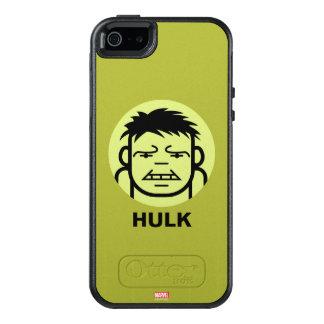 Hulk Stylized Line Art Icon OtterBox iPhone 5/5s/SE Case