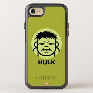 Hulk Stylized Line Art Icon OtterBox Symmetry iPhone 7 Case