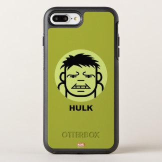 Hulk Stylized Line Art Icon OtterBox Symmetry iPhone 7 Plus Case