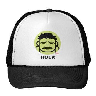 Hulk Stylized Line Art Icon Trucker Hat