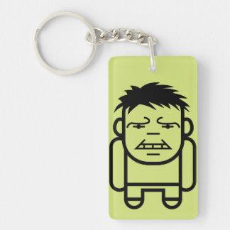 Hulk Stylized Line Art Keychain