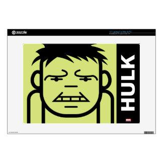 Hulk Stylized Line Art Laptop Decal