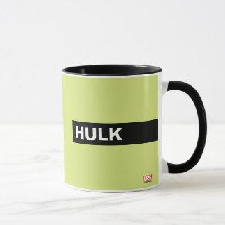 Hulk Stylized Line Art Mug