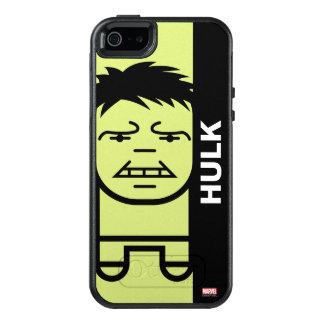Hulk Stylized Line Art OtterBox iPhone 5/5s/SE Case