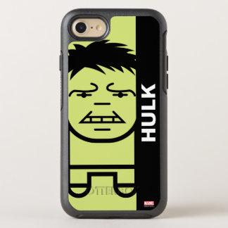 Hulk Stylized Line Art OtterBox Symmetry iPhone 7 Case