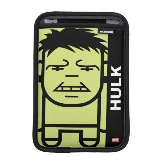 Hulk Stylized Line Art Sleeve For iPad Mini