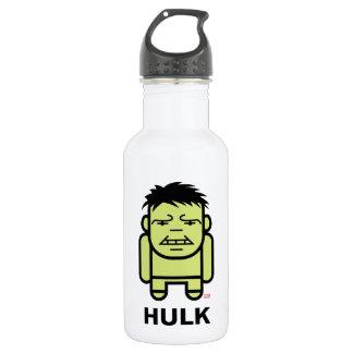 Hulk Stylized Line Art Stainless Steel Water Bottle