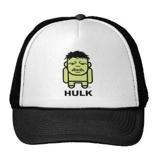 Hulk Stylized Line Art Trucker Hat