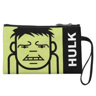 Hulk Stylized Line Art Wristlet
