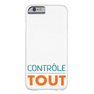"Hull ""All is under control "" Barely There iPhone 6 Case"