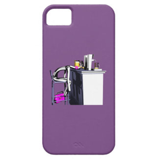Hull Blows of purple bar woman 2 iPhone iPhone SE/5/5s Case