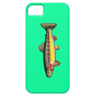 """Hull Casemate iPhone 5/5S """"Trout Golden delicious  iPhone SE/5/5s Case"""