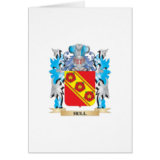 Hull Coat of Arms - Family Crest Greeting Card
