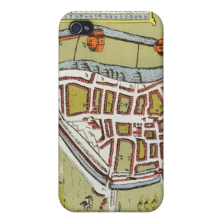 Hull, detail from map of North and East Ridings iPhone 4 Case