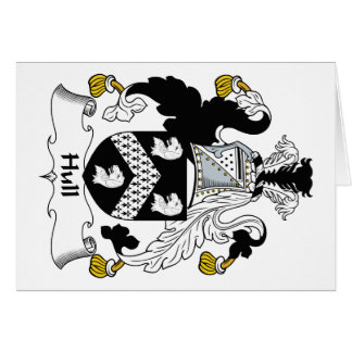 Hull Family Crest Greeting Card