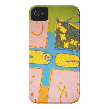 Hull for iphone 4 original style_ painting art Case-Mate iPhone 4 case