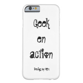 """Hull for iPhone 6 """"Geek in action"""" by REN Barely There iPhone 6 Case"""