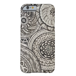 hull I Phon 6 MANDALAS Barely There iPhone 6 Case
