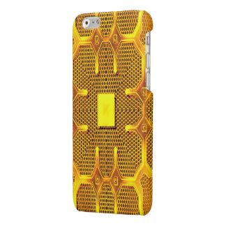 Hull iPhone6 ReBeToN Gold Line 001 Glossy iPhone 6 Case