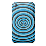 Hull iPhone 3 range rounds blue Case-Mate iPhone 3 Case