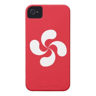 "Hull Iphone 4/4S Croix Basque ""Lauburu "" iPhone 4 Cover"