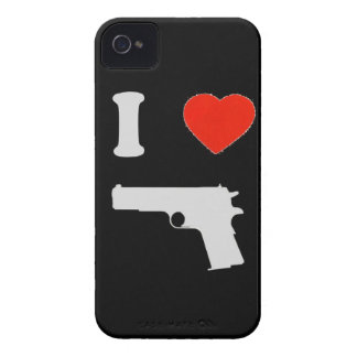 "Hull iPhone 4 Barely There ""I coils gun "" iPhone 4 Cover"