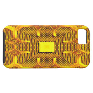 Hull iPhone 5/5S ReBeToN Gold Line 001 iPhone SE/5/5s Case