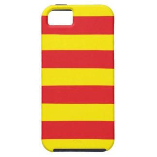 """Hull Iphone 5 Catalana Bandera """"Serenya """" iPhone 5 Carcasa"""