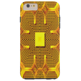 Hull iPhone 6 Plus ReBeToN Gold Line 001 Tough iPhone 6 Plus Case