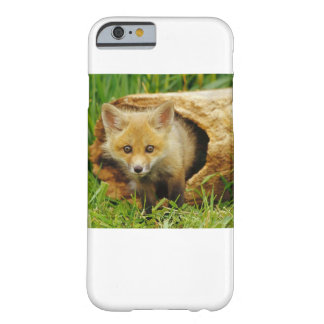 hull Iphone fox cub Barely There iPhone 6 Case