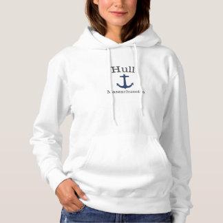 Hull Massachusetts Sea Anchor Sweatshirt for women