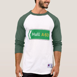 Hull, UK Road Sign Tshirts