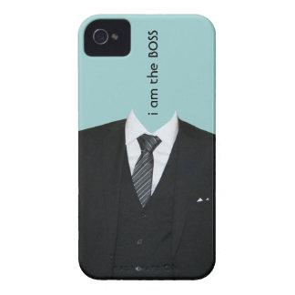 hülle iphone 4 con anzug y krawatte