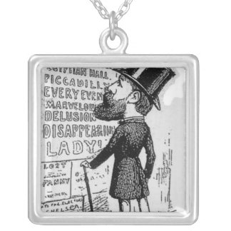 Hullo! Maskelyne and Cook Silver Plated Necklace