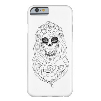 Hulls Boxes Santa Muerte Barely There iPhone 6 Case