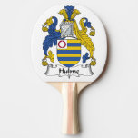 Hulme Family Crest Ping-Pong Paddle