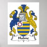 Hulme Family Crest Print