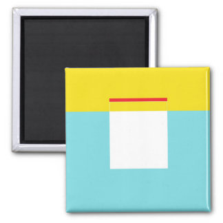 Hulo 2 Inch Square Magnet