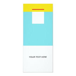 Hulo 4x9.25 Paper Invitation Card