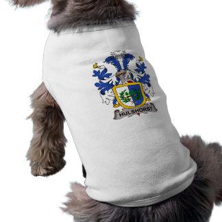 Hulshorst Family Crest Pet Tee Shirt