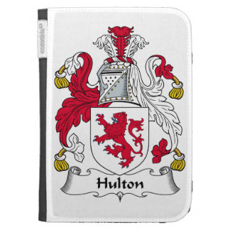 Hulton Family Crest Kindle 3 Cover