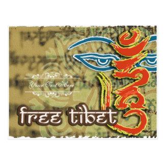 <HUM> - FREE TIBET POSTCARD