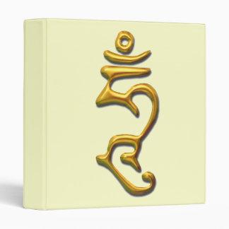 Hum-gold 3 Ring Binder