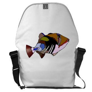 Huma Huma Triggerfish Courier Bags